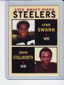 Lynn-Swann-John-Stallworth-039-74-Pittsburgh-Steelers-Draft-Picks-1-rookie-stars