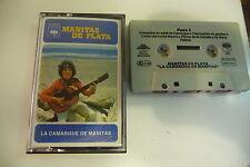MANITAS DE PLATA K7 AUDIO TAPE CASSETTE. LA CAMARGUE DE MANITAS.