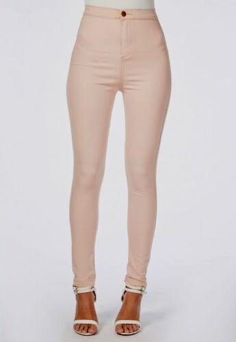 Nouveau dernières Femmes Femmes Effet Vieilli Net Exclusive Denim Jeans Jegging UK 6-16