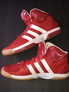 Pair Adidas Basketball Shoes