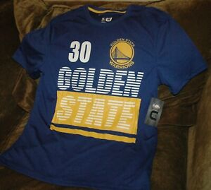 new concept f4237 ca2b4 Details about Stephen Curry jersey shirt Golden State Warriors men's large  NEW with tags NBA