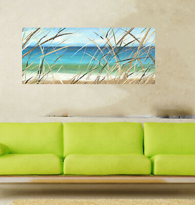 Byron Bay NSW Beach art painting seascape breeze summer COA By Andy Baker