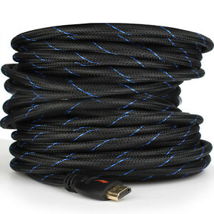 Braided-Short-Long-Ultra-HD-HDMI-Cable-3ft-6ft-10ft-15ft-25ft-30ft-50ft-66ft