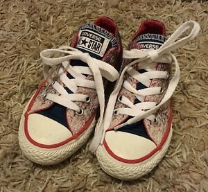 Details about CONVERSE ALL STAR SHOES SIZE USA 11 UK 10.5 EUR 28 17cmAS NEW !