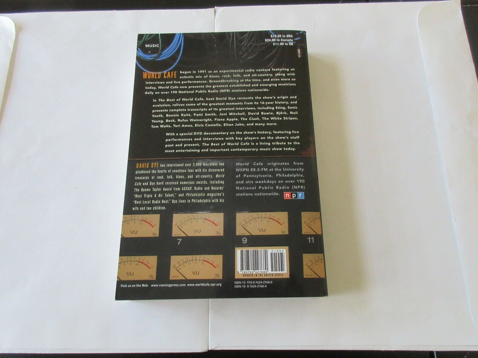 The Best Of WORLD CAFE by David Dye , 2007 , Paperback