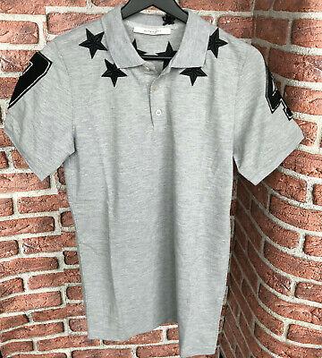 BAPE Tiger Shark Crest Badge Black Crew T-Shirt Men/'s Cotton Paris Jersey