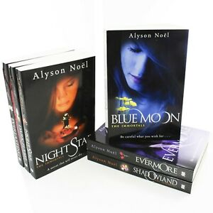 Immortals-Series-6-Books-Young-Adult-Collection-Paperback-Set-By-Alyson-Noel