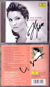 Anna-NETREBKO-Valery-GERGIEV-Signed-RUSSIAN-ALBUM-Eugene-Onegin-Letter-Scene-CD