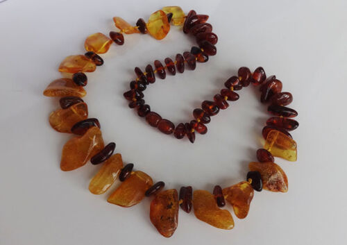 GENUINE BALTIC AMBER collier