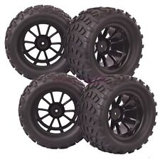 4PCS RC 1/10 Monster Bigfoot Off-Road Truck Foam Rubber Tyre Tire 88036 HSP
