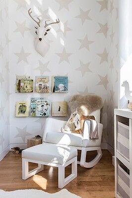 Large stars Self Adhesive Wallpaper vinyl removable Nursery wallpaper 060