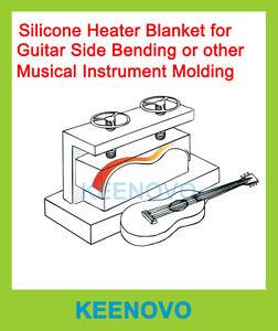 keenovo silicone heater,guitar side bending thermal blanket,6\
