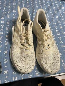 Adidas-Womens-9-PureBoost-DPR-Ivory-White-Black-Training-Running-Shoe-B75813