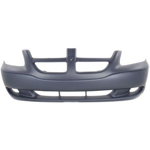 Plastic Primed For Grand Caravan 01-04 Front Bumper Cover