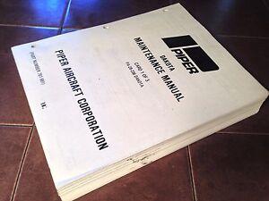 Piper pa-28-236 dakota service manual | ebay.