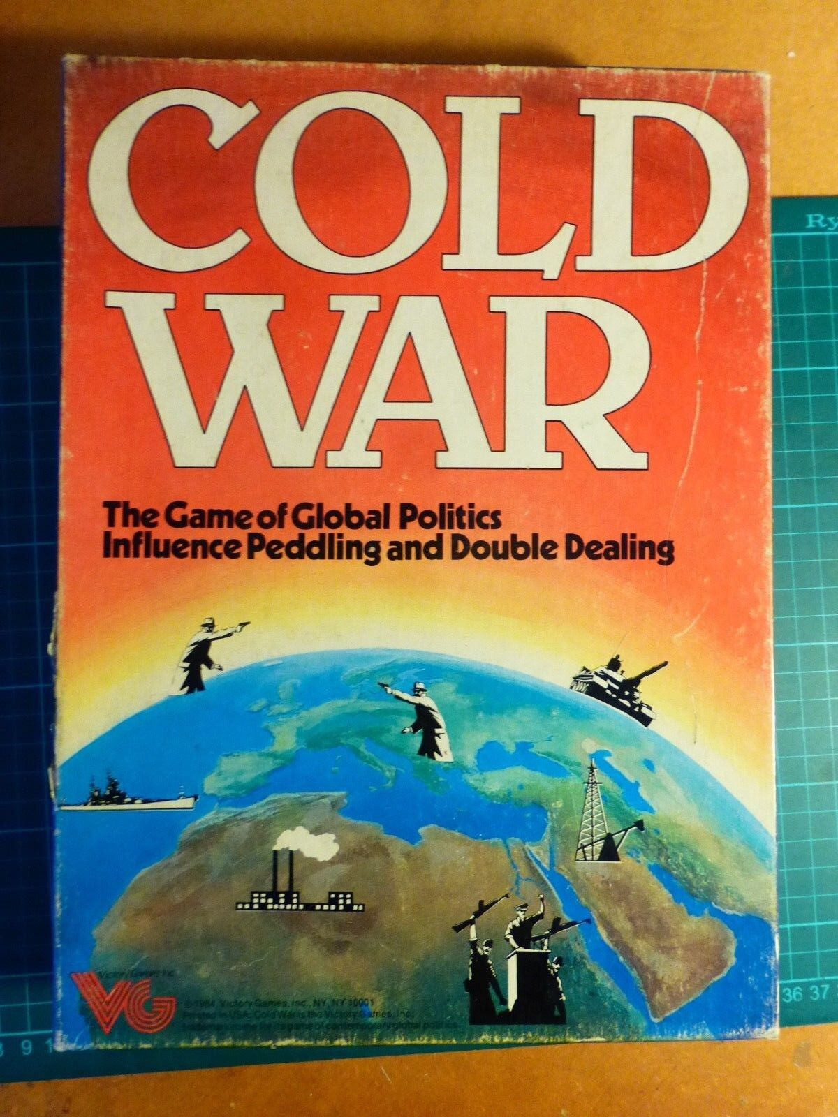 Cold War COMPLETE by Victory Games Subsidiary Of Avalon Hill