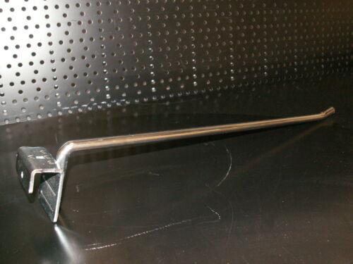 Einfachhaken 10x gebr Aufsteckhalter 40 cm f Trageschiene Tegometall Tego Haken