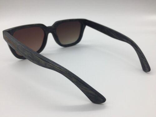 MEN/'S 2019 fabriquée à la main en bambou Cadre Gradient Tinted Lunettes de soleil polarisées