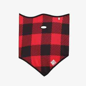 NEW-W-TAGS-Airhole-Unisex-STANDARD-LITE-POLAR-FACE-MASK-RED-BUFFALO-HUNTING