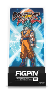 Dragon Ball Super SSGSS Goku /& Super Saiyan God Blue Vegeta Metal Pins Set of 2