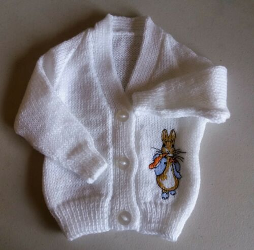 New Peter Rabbit Knitted baby cardigan design 2