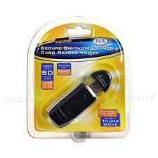 SD SDHC MMC MEMORY CARD READER USB 2.0 For 4GB 8GB 16GB 32GB