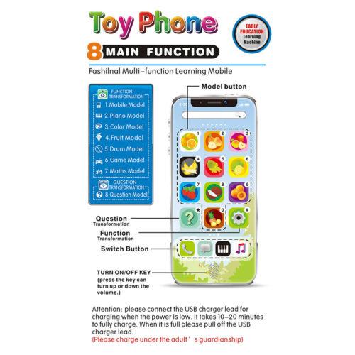Baby Spielzeugtelefon Kindertelefon Spieltelefon Musik Früherziehung