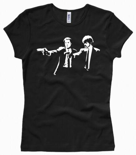 Pulp Fiction - Damenshirt / Girl / Woman, Gr. XS bis XL