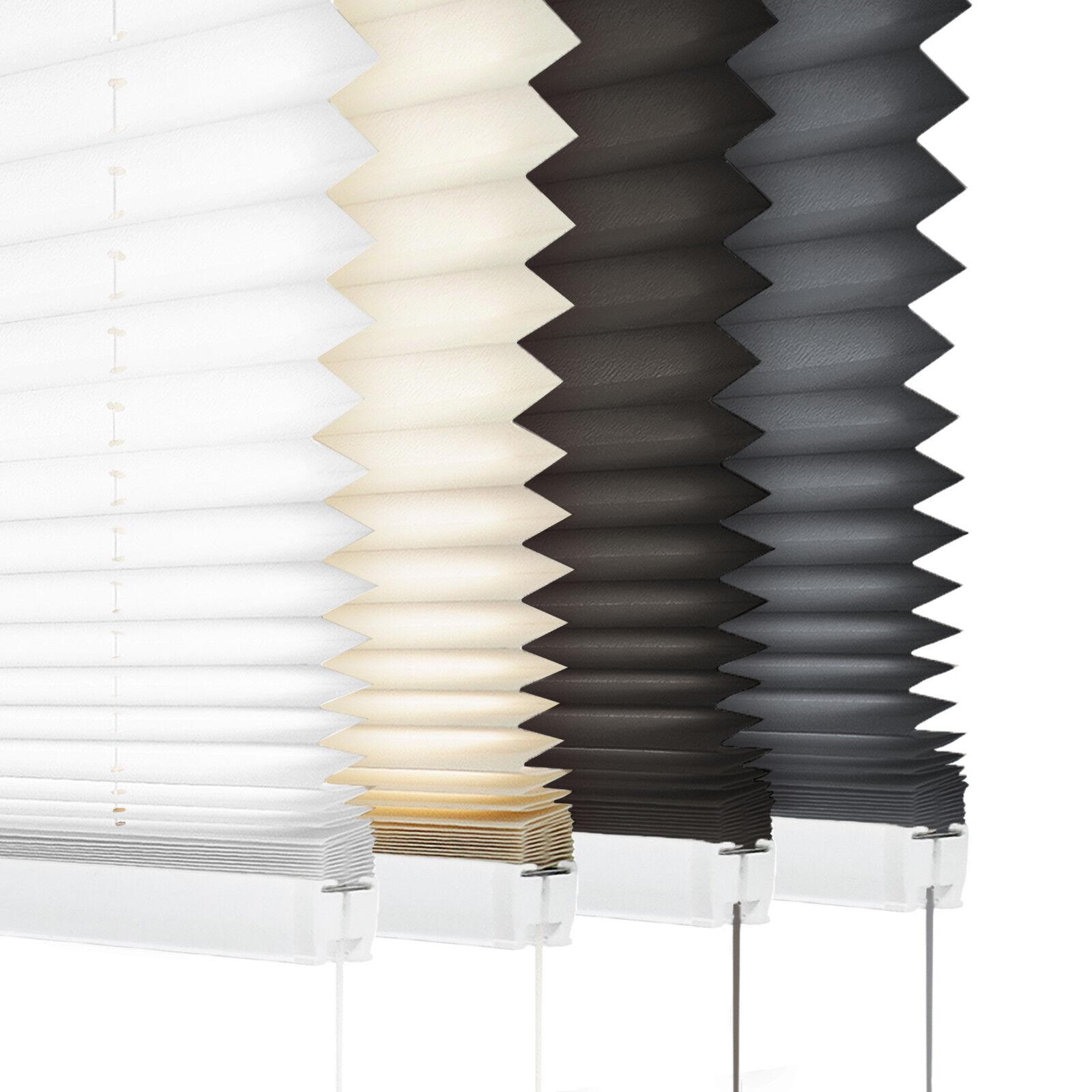 Bekannt Sonnenschutz Sichtschutz Plissee NEU Optik moderne Farben 4 ME16