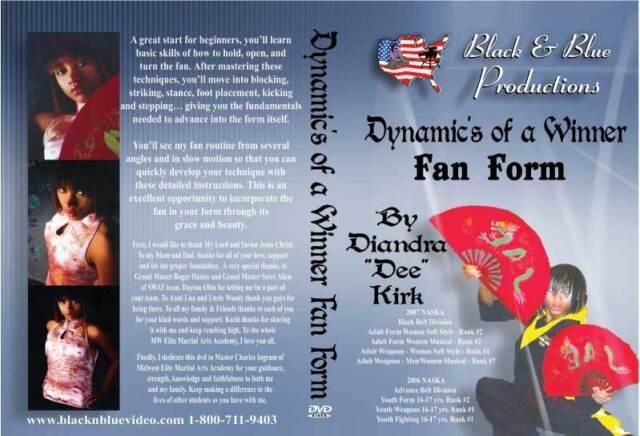 Dynamic's of a Winner Fan Form by Diandra Kirk