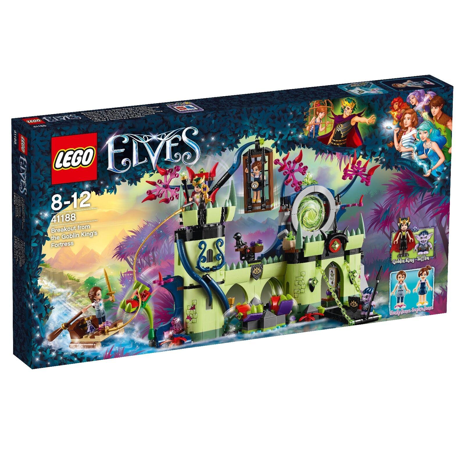 Lego ® Elves 41188 estallido de la fortaleza del Kobold-rey nuevo embalaje original _ New NRFB