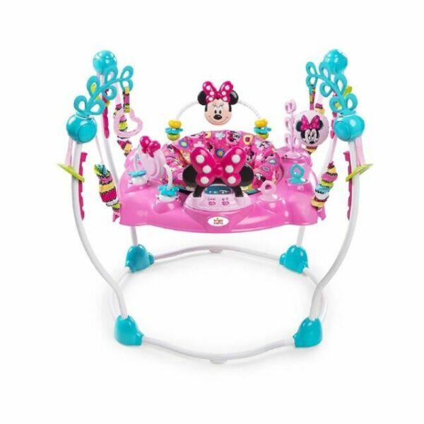 Disney 10299 Baby Minnie Mouse Peek A Boo Activity Jumper