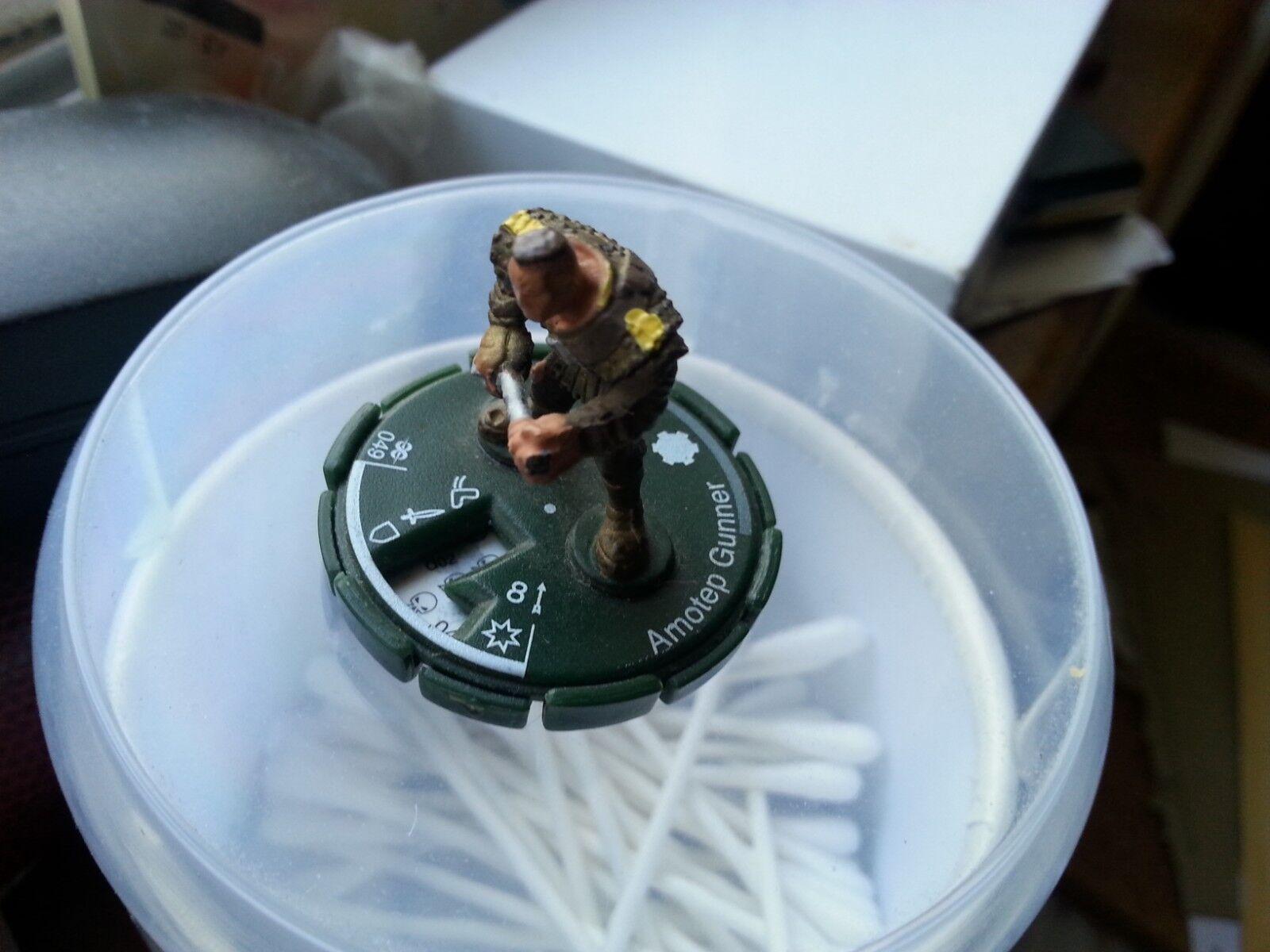 WizKids Heroclix Amotep Gunner Patent Pending Miniature Figure