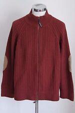 WOOLRICH XL maglia maglione zip sweater jumper lana wool E4207