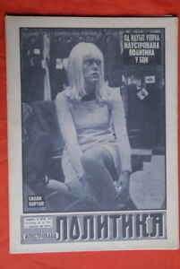 SYLVIE-VARTAN-ON-COVER-COVER-1967-RARE-EXYU-MAGAZINE