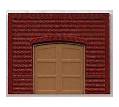 Woodland Scenics DPM STREET LEVEL FREIGHT DOORS (4) HO Scale Building Kit 30102