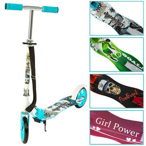 Scooter-Roller-Tretroller-Cityroller-Kinderroller-klappbar-205-mm-Wheel-NEU