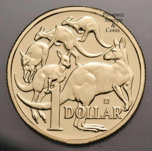 2019 2 coins MOB OF ROOS Privymarks Perth and Brisbane- $1 Aust UNC Coins