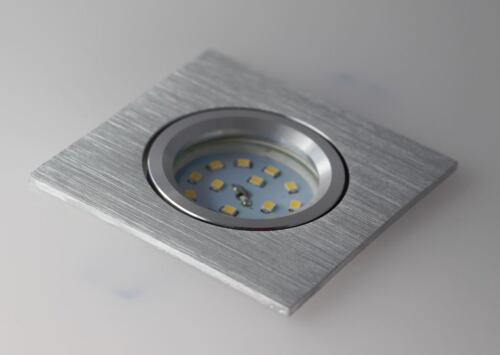 5 x Led Einbaustrahler Alu Spot Einbau 30mm 3 step dimmbar neutralweiß #Flat4131
