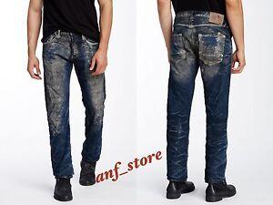 65706bd9922f5 NWT PRPS Goods JAPAN Demon Slim Men Jeans 30 x 32 Faded Illusion ...