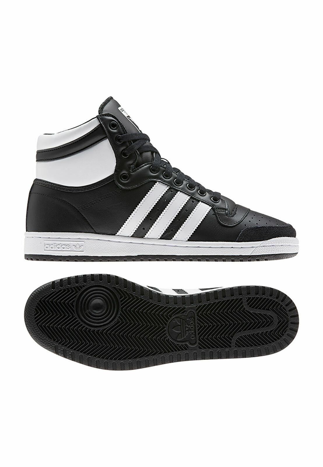 NEW adidas Originals TOP TEN HI EF6365 Black//Red Mens Shoes c1 a1