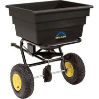 Spreader P30-17520 Tow-behind 175lb Pro Series Commercial Grade Spyker