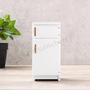 1-12-Scale-Dolls-House-Miniature-Kitchen-Furniture-Fridge-Refrigerator