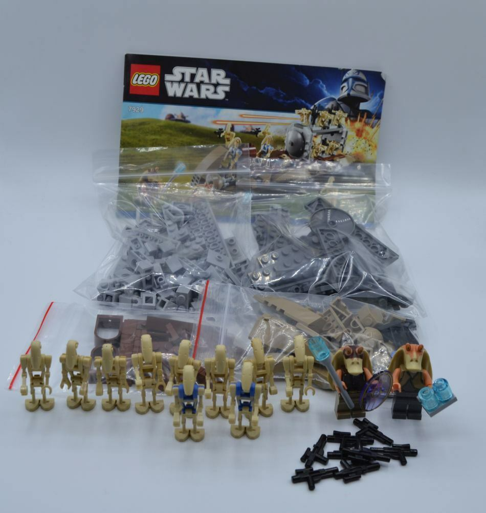 LEGO Set 7929 Star Wars The Battle of Naboo mit BA set with instruction