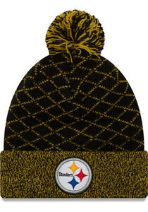 finest selection 4451f 2a777 Image is loading Pittsburgh-Steelers-New-Era-Women-039-s-Criss-