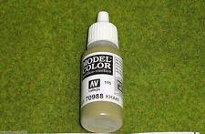 Vallejo Model Color KHAKI Acrylic Paint 70988