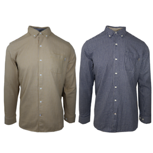 Timberland-Men-039-s-Checked-L-S-Woven-Shirt-Retail-70