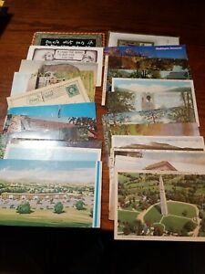 Lot-of-29-Vintage-Postcards-Mixed-Lot-Some-With-Stamps-YVONNE-DONJAY-D-039-ANGERS