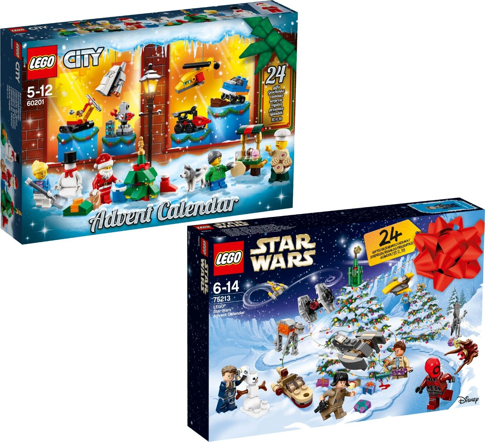 LEGO Adventskalender  60201 City + 75213 Star Wars N9 18