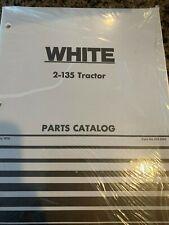 Wfe White 2 135 Tractor Parts Catalog Catalogue